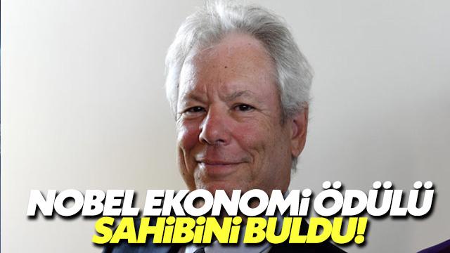 'Nudge' teorisyeni Thaler Nobel ödülünü kazandı