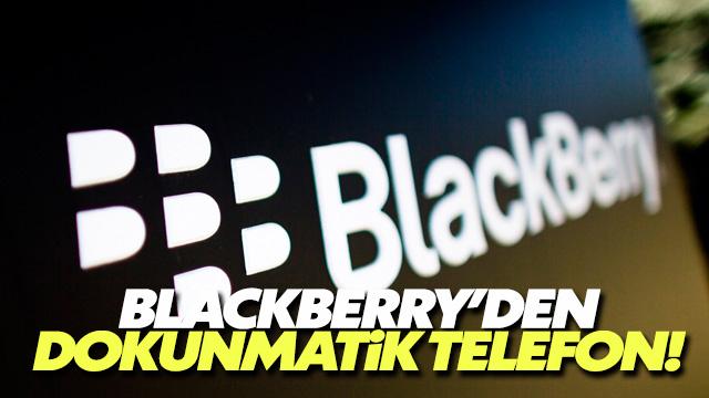 BlackBerry yeni telefonunu tanıttı