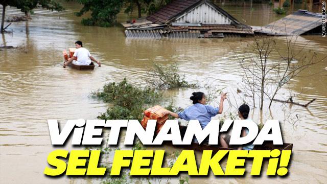 Vietnam'da şiddetli fırtına 15 kişiyi öldürdü