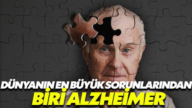 Alzheimer dünyanın en büyük sorunlarından biri haline geldi