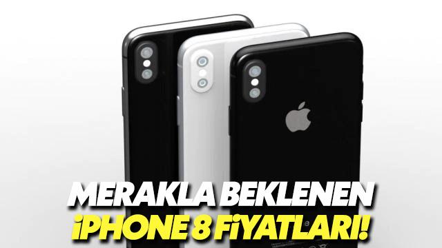 İşte iPhone 8 ve iPhone 8 Plus'ın fiyatları