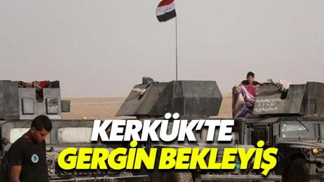 Kerkük'te sıcak saatler, bölgede çatışma beklentisi
