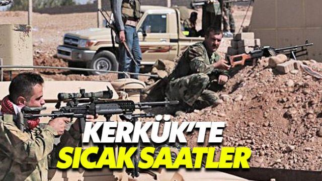 Kerkük'te peşmerge ile ordu güçleri arasında çatışma