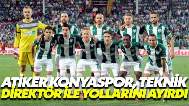 Atiker Konyaspor, teknik direktörü ile yollarını ayırdı
