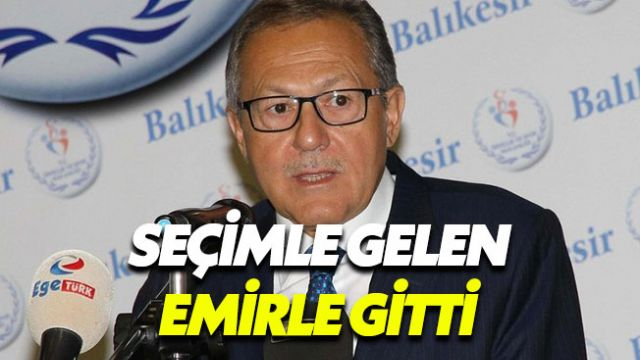 Ahmet Edip Uğur, partisinden ve görevinden istifa etti