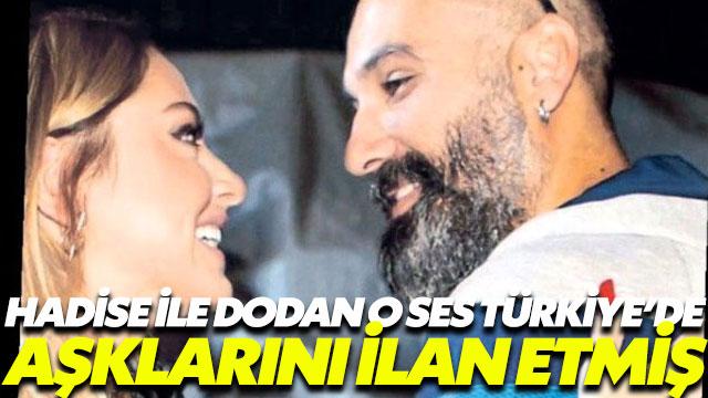 Dodan ile Hadise O Ses Türkiye'de aşklarını ilan etmiş
