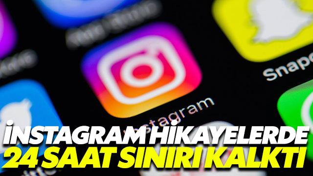Instagram Hikayeler'deki 24 saat sınırından geri adım attı