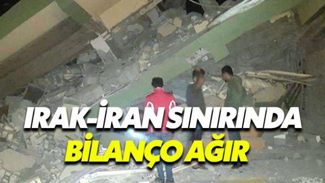 İran - Irak sınırındaki depremin bilançosu ağırlaşıyor