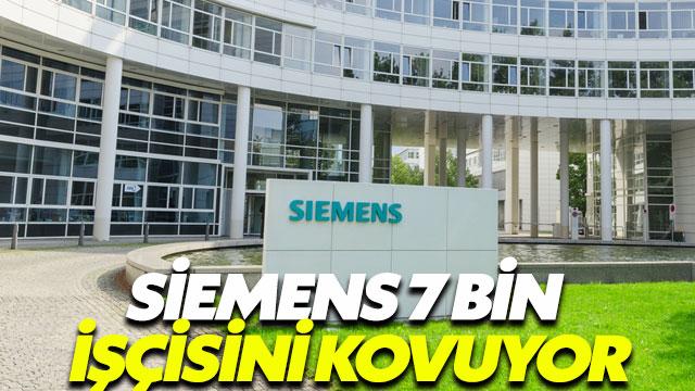 Siemens 7 bin kişiyi kovuyor