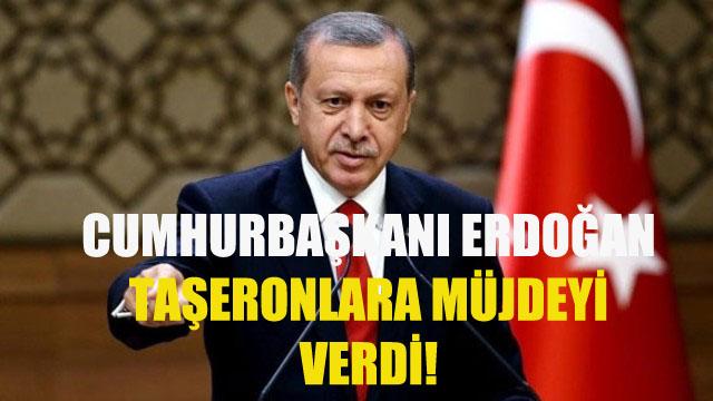 Cumhurbaşkanı Erdoğan Taşeronlara Müjdeli Haberi Verdi! Bu Hafta Meclise Geliyor