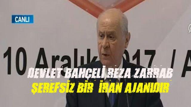 Devlet Bahçeli: Şerefsiz bir ajanın sözleriyle Türkiye töhmet altına alınamaz.