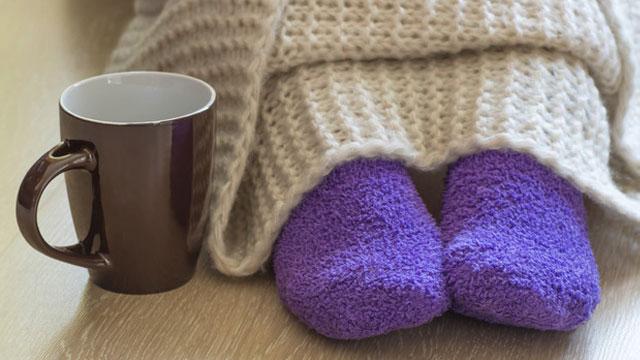 Hamilelik döneminde ayaklarınızı sıcak tutmaya özen gösterin