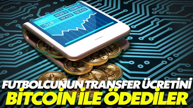 Bitcoin ile futbolcu transferi gerçekleştirildi