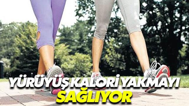 Masaj yerine yürüyüş daha çok kalori yakılmasını sağlıyor
