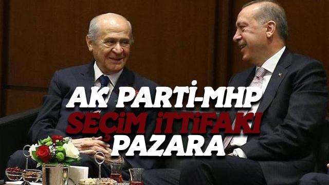 AK Parti-MHP Seçim İttifakı Pazara