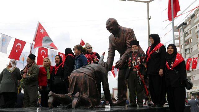 Kurtuluş Savaşı'nın Fatma Onbaşı'sına Tarsus'da vefa anıtı