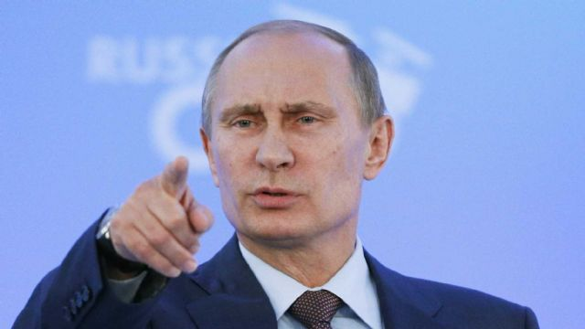 Putin'den tehdit gibi sözler
