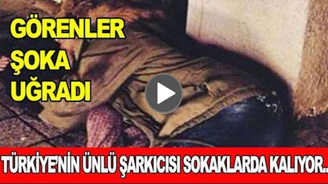 Türkiye'nin Sevilen Şarkıcılarından Olan Ünlü İsim Sokaklarda Yatıyor...