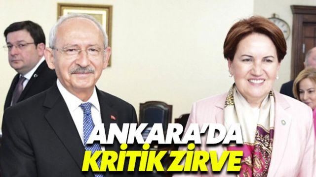 Muhalefet cephesinde gözler Kılıçdaroğlu-Akşener görüşmesinde