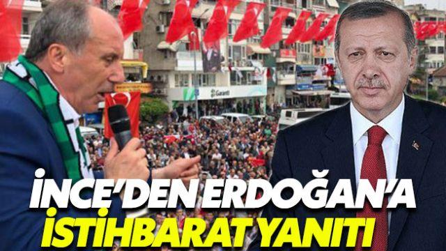 Erdoğan ve İnce arasında MİT restleşmesi