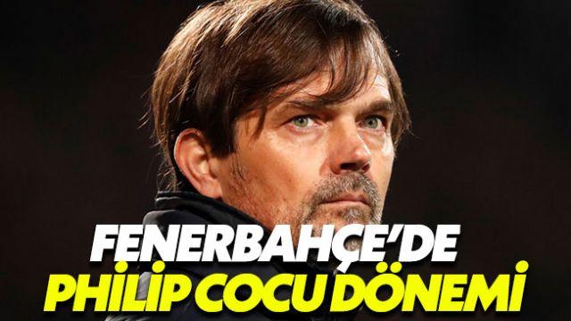 Fenerbahçe Philip Cocu'yu resmen duyurdu