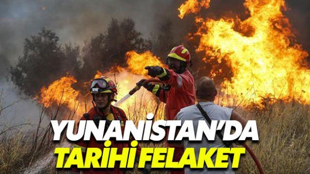 Yunanistan'daki yangın faciasında bilanço ağır