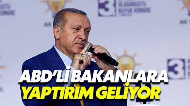 ABD'li bakanların Türkiye'deki mal varlıkları dondurulacak