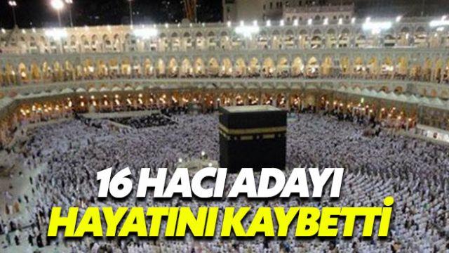 Mekke'de hayatını kaybeden 16 Türk hacı adayının kimlikleri belli oldu