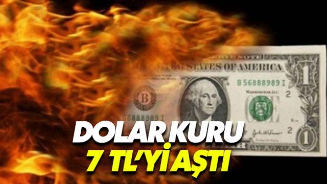 Dolar 7.20 TL'yi gördü piyasalar yeni hafta öncesi umut vermedi
