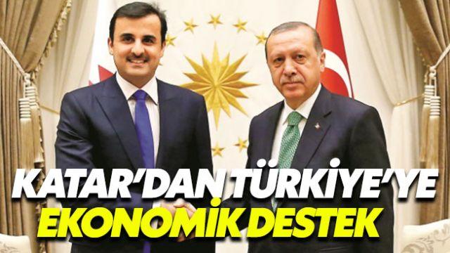 Katar Emiri'nden Türkiye'ye 15 milyar dolar yardım