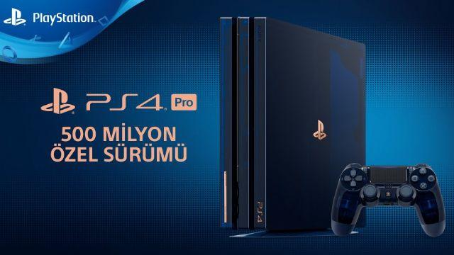 PS4 Pro 500 milyon özel sürümü duyuruldu