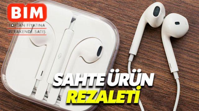 BİM'den alınan iPhone aksesuarları sahte çıktı
