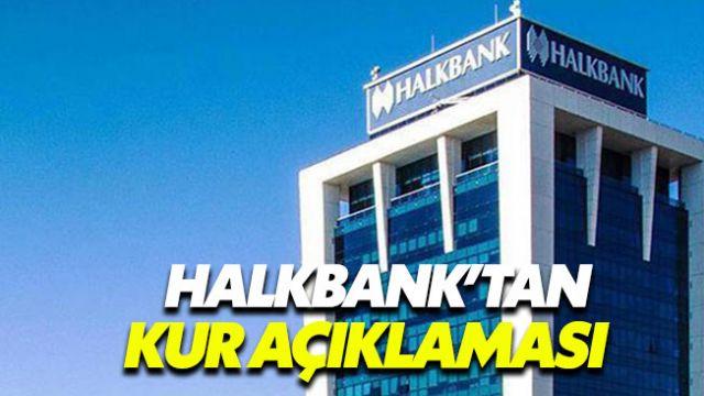 3.72 TL'den dolar satan Halkbank'tan açıklama geldi