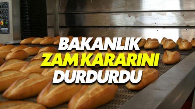 Ticaret Bakanlığı Ankara'daki ekmek zammını durdurdu