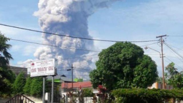 Endonezya'da yanardağ felaketi meydana geldi