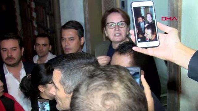 Meral Akşener evini basan MHP'li gruptan şikayetçi olmadı