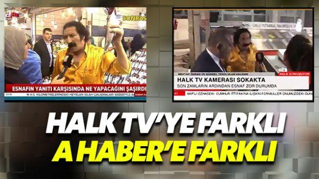Halk TV'ye farklı A Haber'e farklı konuşan Balıkçı Müslüm Baba