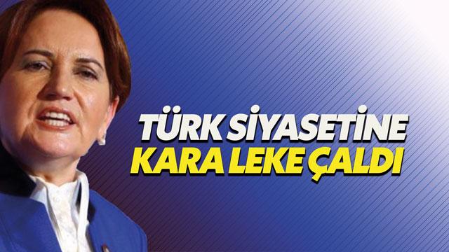 Meral Akşener: Bahçeli siyasete kara bir leke çaldı