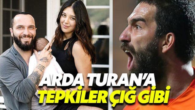 Arda Turan Berkay'ın eşi Özlem Şahin'e mi asıldı?