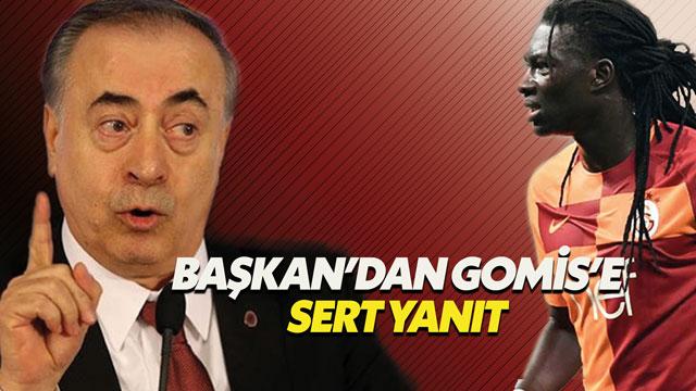 Mustafa Cengiz'den Gomis'e sert yanıt
