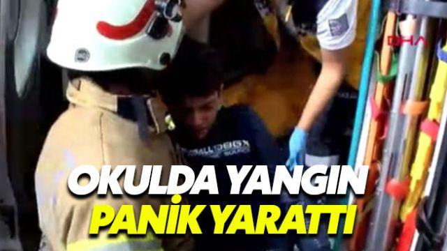 İstanbul Şirinevler'de okul yangını