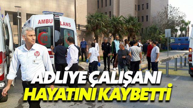 İzmir Adliyesi'nde gaz sızıntısında 1 kişi hayatını kaybetti