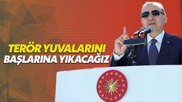 Erdoğan: Komandolarımız teröristlere dünyayı dar ediyor