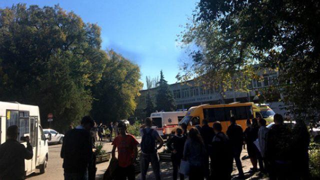 Okulda patlama meydana geldi çok sayıda ölü ve yaralı var