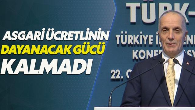 Türk-İş: İşçinin dayanacak gücü kalmadı