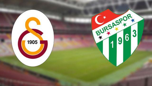 Galatasaray-Bursaspor maçı saat kaçta başlayacak? Galatasaray-Bursaspor maçı ne zaman?