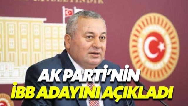 MHP'li Enginyurt, AK Parti'nin İstanbul adayını açıkladı
