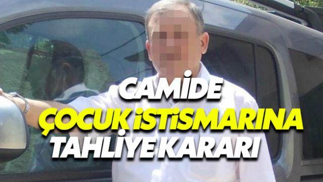 Camide cinsel istismarda bulunduğu iddia edilen imam serbest
