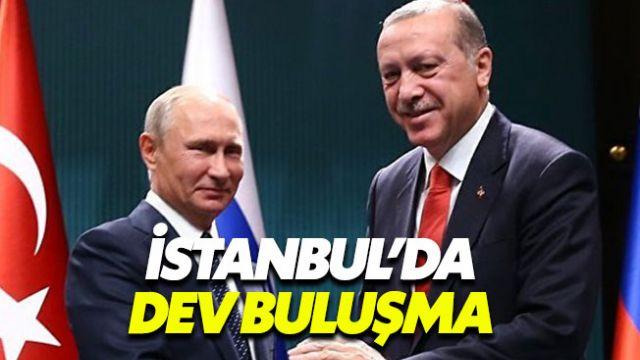 Erdoğan ve Putin dev proje için bir araya geliyor