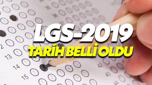 Liselere Geçiş Sistemi (LGS) 2019 tarihi belli oldu